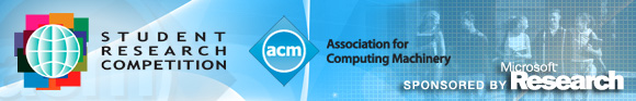 ACM Student Research Competition Banner